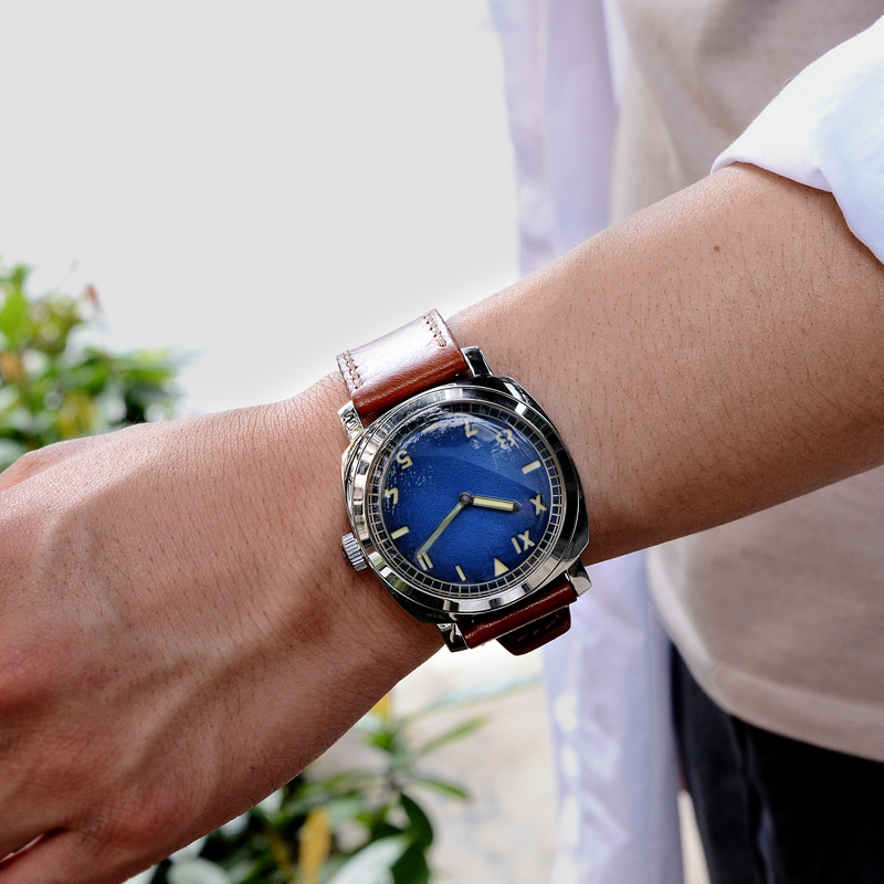 San Martin Men Fashion Watch Automatic Diving Watch Vintage Stainlss Steel Wristwatch 200m Water Resistant  Montre Homme Men
