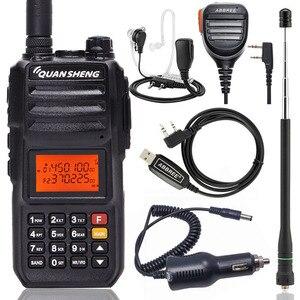 Image 1 - Quansheng TG UV2 PLUS haute puissance 10W 5 bandes 136 174MHz/Police 350 390MH/400 470MHz 4000mAh 10KM longue portée 200CH talkie walkie
