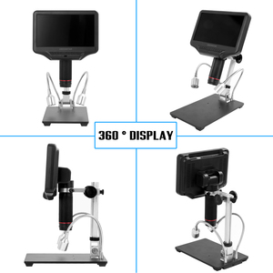 Image 3 - AD407 Digital Microscope for Phone 270X 1080P High Definition Microscope Camera 7 Inch Screen Microscope for Soldering