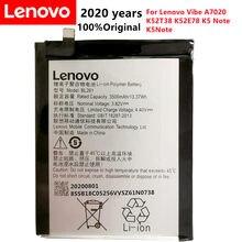 3500mah bl261 para lenovo vibe a7020 k52t38 k52e78 k5 nota k5note limão a7020a40 a7020a48 bateria + número de rastreamento