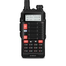 Baofeng UV 6Plus 노바 워키 토키 장거리 워키 토키 VHF UHF 5R 128ch 디스플레이 양방향 라디오