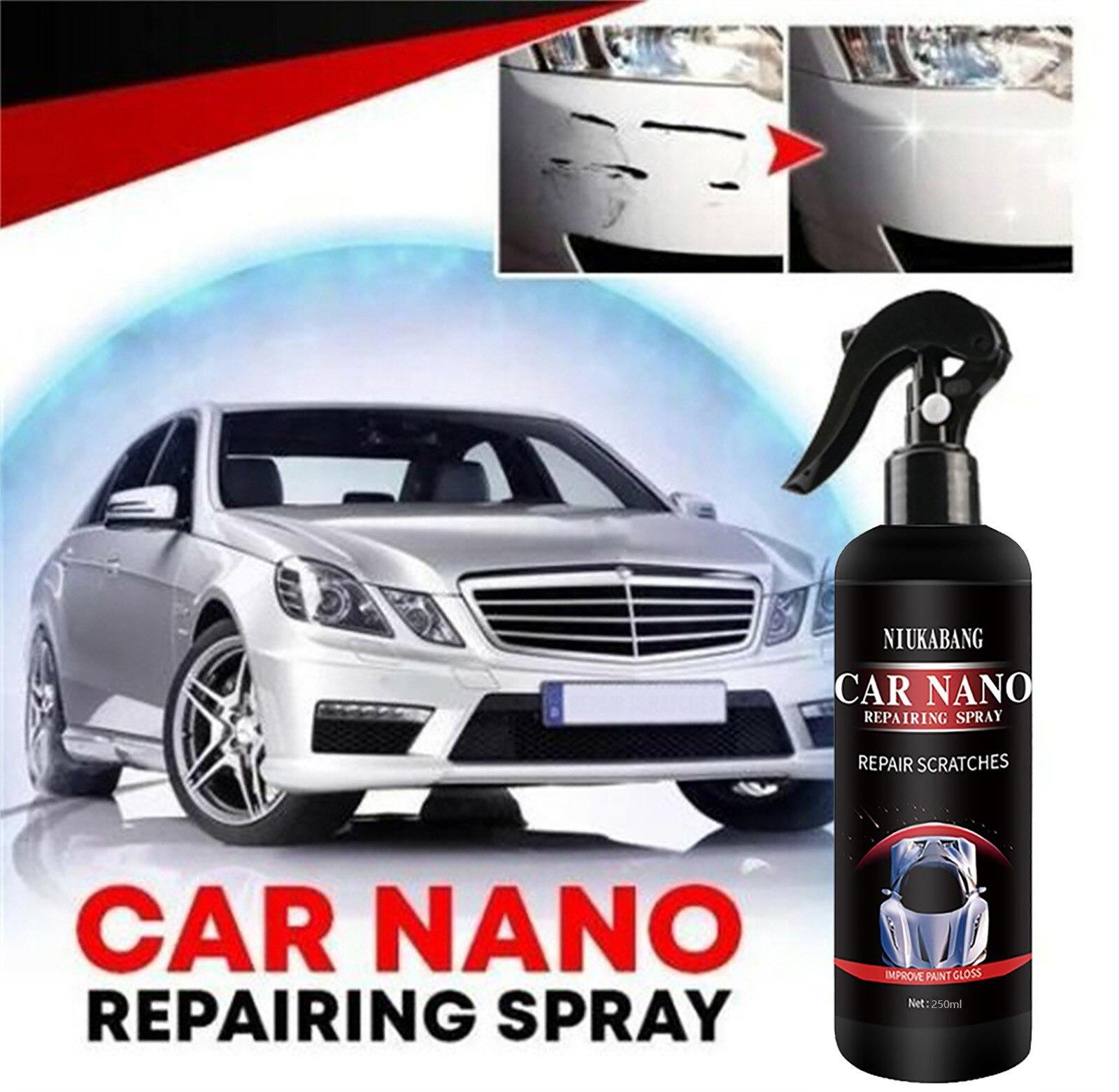 500 мл автомобиля Nano Восстанавливающий спрей окисления жидкости Керамика, супергидрофобное покрытие для 60 мл автомобиля нано ремонт спрей м...