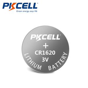Image 2 - 10 X Pkcell CR1620 3V Lithium Batterij BR1620 DL1620 ECR1620 Cr 1620 Knoopcel Batterijen