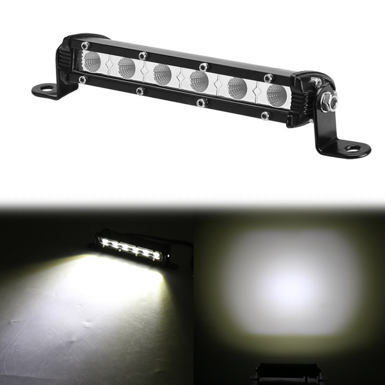 18 W Small Strip Lamp Manufacturers Selling Concentrated Floodlight Mini Work Light With Single Auxiliary Lighting Lamp