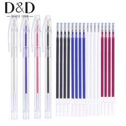 Оптовая продажа 500 шт. маркер для ткани термо стираемая ручка заправка высокая температура исчезающая ручка для лоскутного швейного инстру...