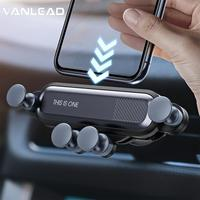 Gravity Car Phone Holder Air Vent Mount Phone Holder GPS Stand  360  Dashboard Universal Phone Holder For IPhone XS MAX Xiaomi