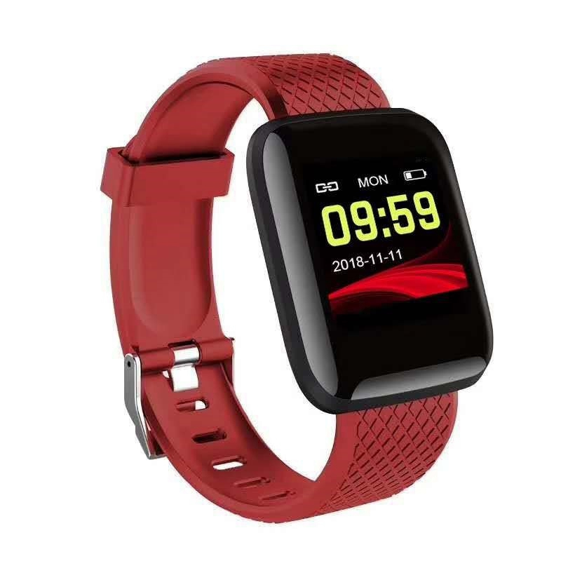 Newest ArrivalSmart Wristbands Bracelet Blood Pressure Measurement Waterproof Sports Fitness Tracker Watch Heart Rate Monitor Pe