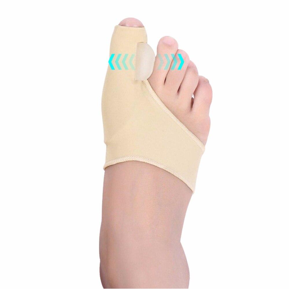 2 шт = 1 пара большого пальца стопы исправление вальгусной деформации первого пальца стопы Корректор ортопедический средства ухода за кожей ...