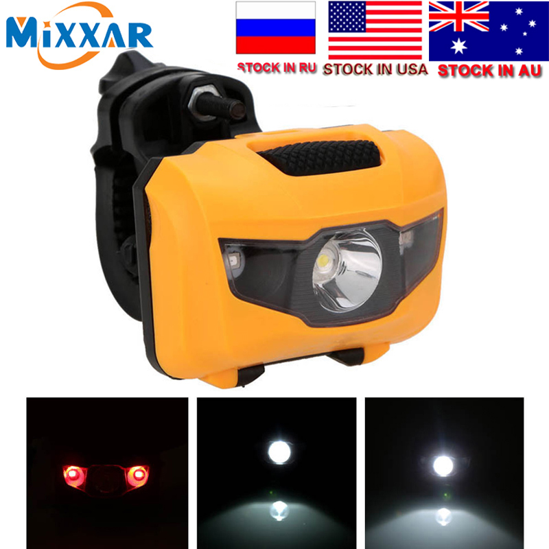 Dropshipping LED Bicycle Light  Bike Cycling Accessories Head Tail Taillight MTB Bike Front Rear Light Warning Lights Flashlight