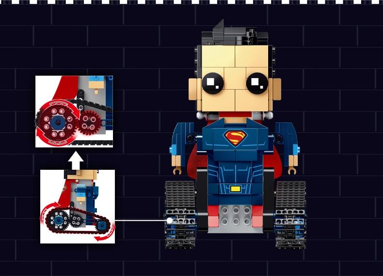 MOULD KING 13040 Crawler Robot Super Man
