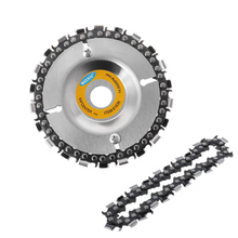 4 Inch Angle Grinder Disc Wheel Tooth Power Plate Woodworking Chain Saw Wood Carving For Grinder Sawdisc
