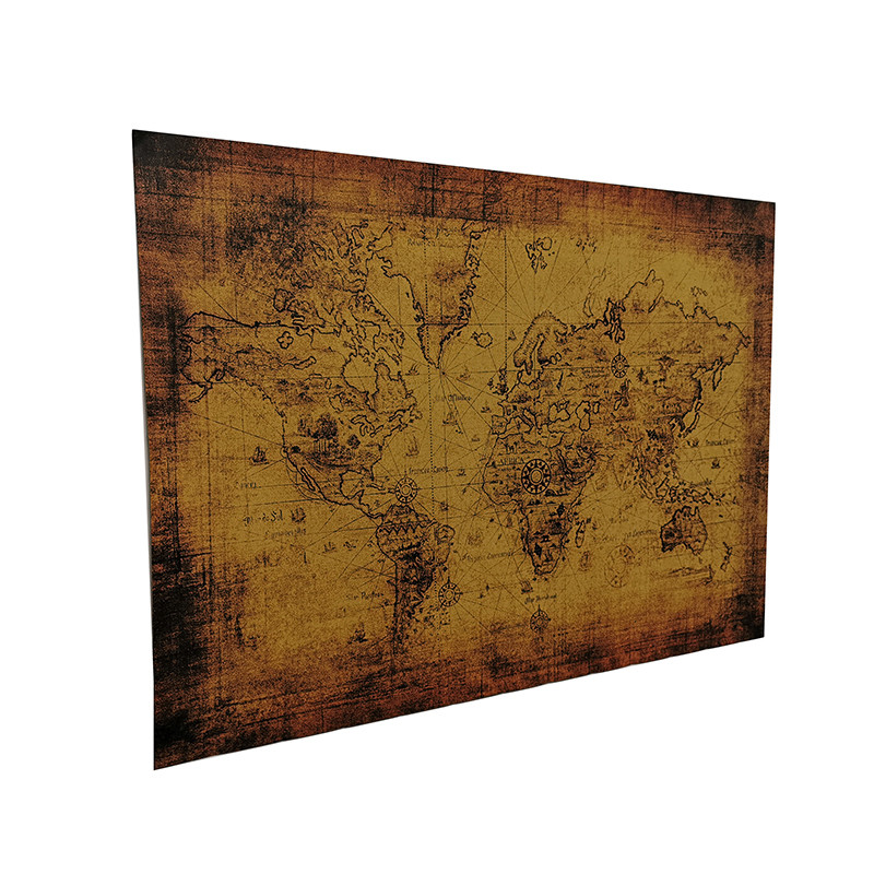 Scratch Map Poster map7