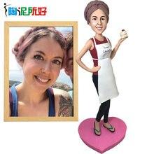 Полимерные глиняные куклы изготовленный на заказ Топпер для