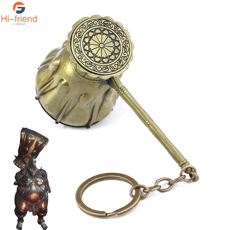 Dark Souls Executioner·Smough Keychain Executioner·Smough's hammer Weapon oversized key chain Collecting gifts For Game Fans image