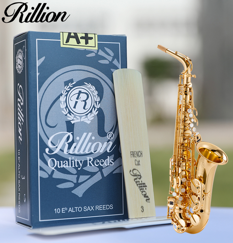 10 Pieces  Professional Strength 3&2.5 Rillion Alto Saxophone Reeds/alto Sax Reeds  Classical And Popular Style Easy To Play