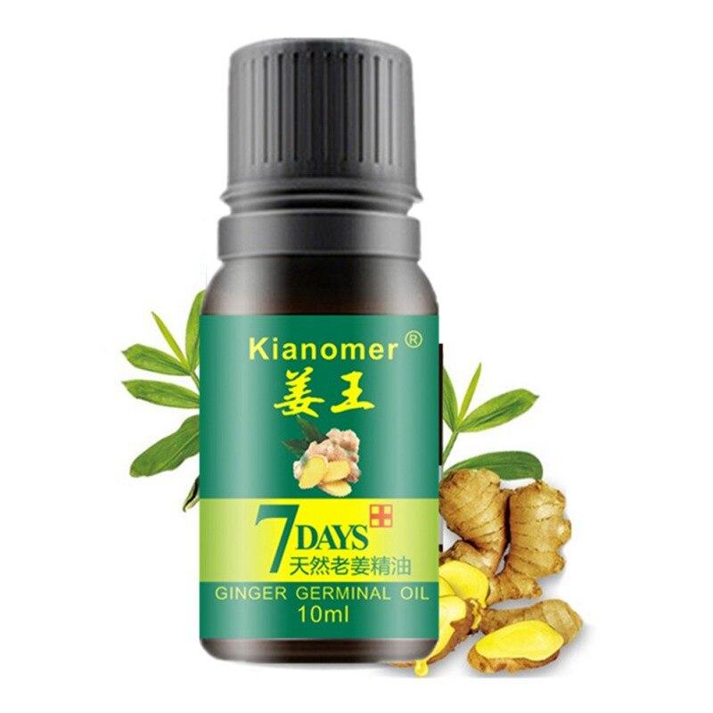 Hot 30ML Kianomer Ginger Hair Growth Essential Oil Nourish Hair Follicles Anti-hair Loss Hair Care Oil Hair & Scalp Treatments