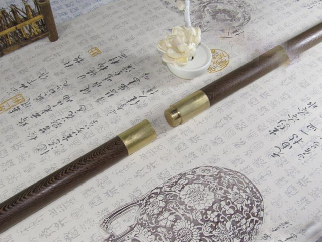 Hardwood Tai Chi Stick Health Stick Folding Martial Arts Stick Long Stick  Self-defense Stick Wushu Sticks Shaolin Sticks 4