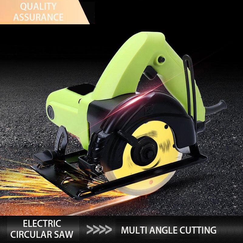 4-inch G5-110 Electric Circular Saw Woodworking Tool Mini Electric Hand Saw Household Cutter Electric Circular Saw