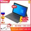 Alldocube KNote X Pro 13.3 inch Gemini lake N4120 Windows 10 Quad Core Tablet PC 8GB RAM 128GB SSD 2560*1440 IPS Tablets KNoteX 1