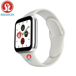 Image 3 - Bluetooth Smart Horloge Serie 5 44Mm Man Vrouw Smartwatch Voor Apple Horloge Iphone Android Telefoon Fitness Tracker Update Iwo 8 9 12
