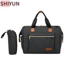 SHIYUN Diaper Bag One Shoulder Baby Bag Women Handbag for Baby Nursing Mummy Maternity Nappy Bag Waterproof Laptop Bag  SY298
