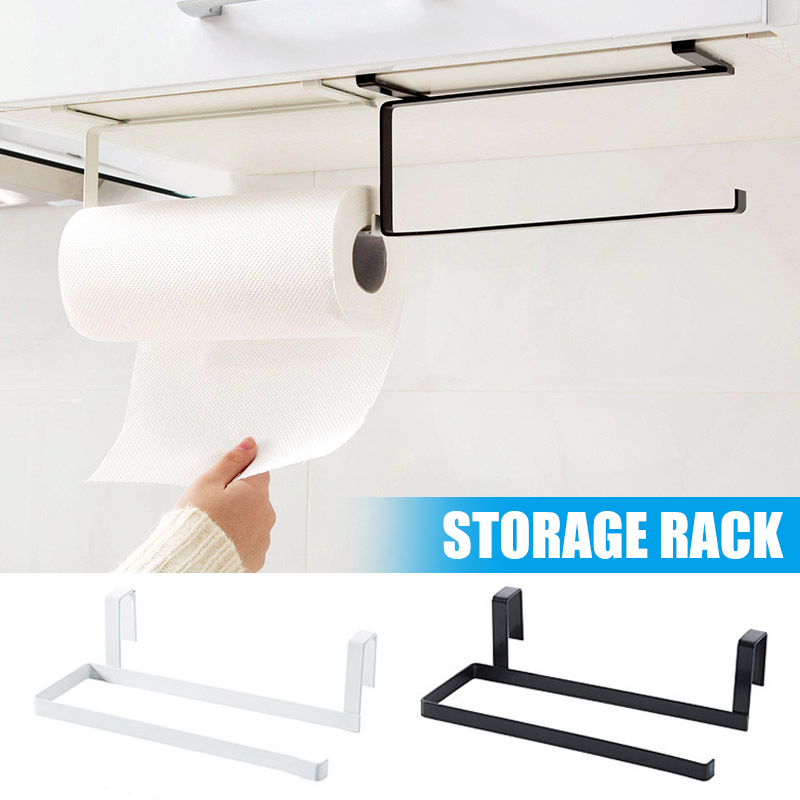 Storage Shelf Toilet Roll Holder Stand Organizer Rack Cabinet Paper Towel Hanger Bathroom  FP8