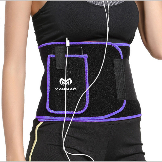 Ms Sports Burst Sweat Belt Fitness Tummy Waist Running Portable Pocket Bandages Shaping Body Tummy Sweat-absorbing Breathable