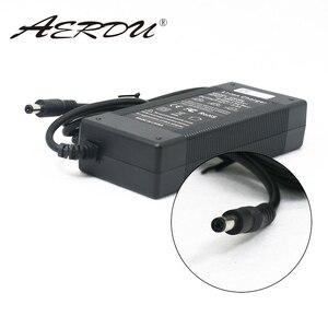 Image 1 - AERDU Paquete de batería de iones de litio 10S, 42V, 2A, 36V, cargador, fuente de alimentación, Adaptador convertidor de CA 100 240V, enchufe de CC para UE/EE. UU./AU/UK