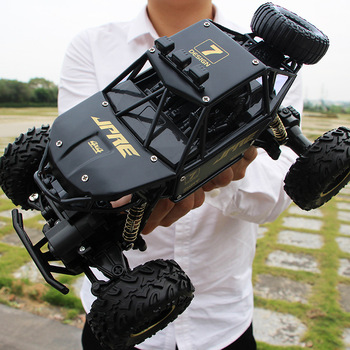 1:16 4WD RC Car Rock Crawlers Drive Car 2.4G Radio Control RC Cars Toys Buggy High speed Trucks Off-Road Trucks Toys for Kid 1