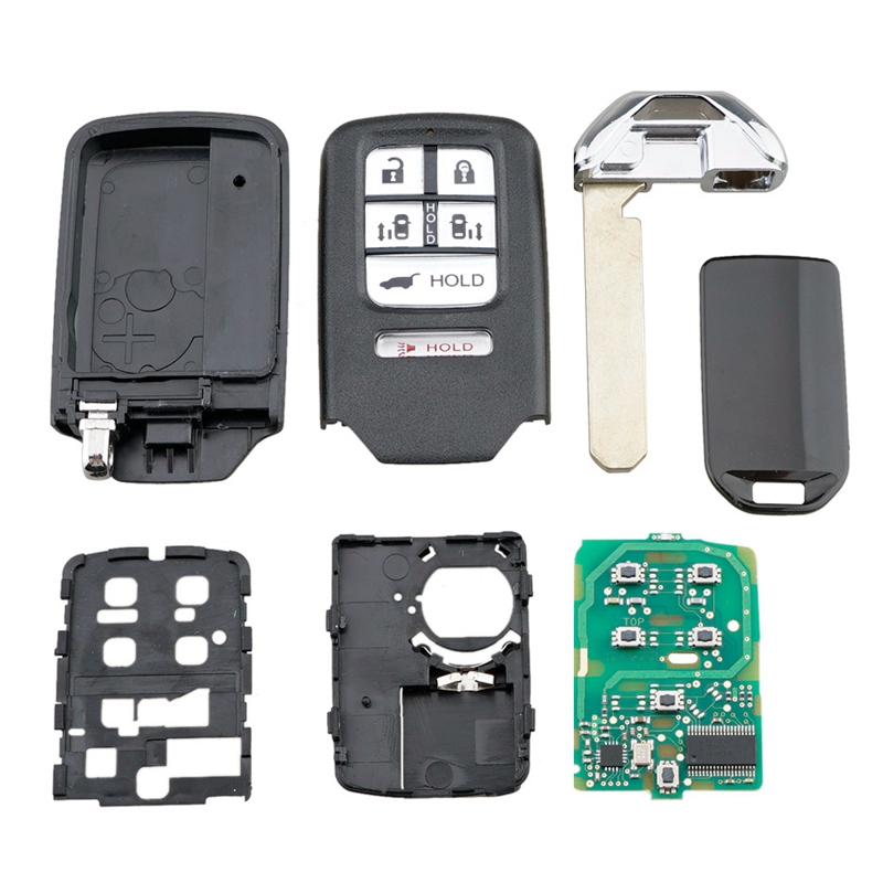 New 5+1 Button 313.8Mhz Fit for 2014 2015 2016 2017 Honda Odyssey Keyless Smart Remote Car Key Fob