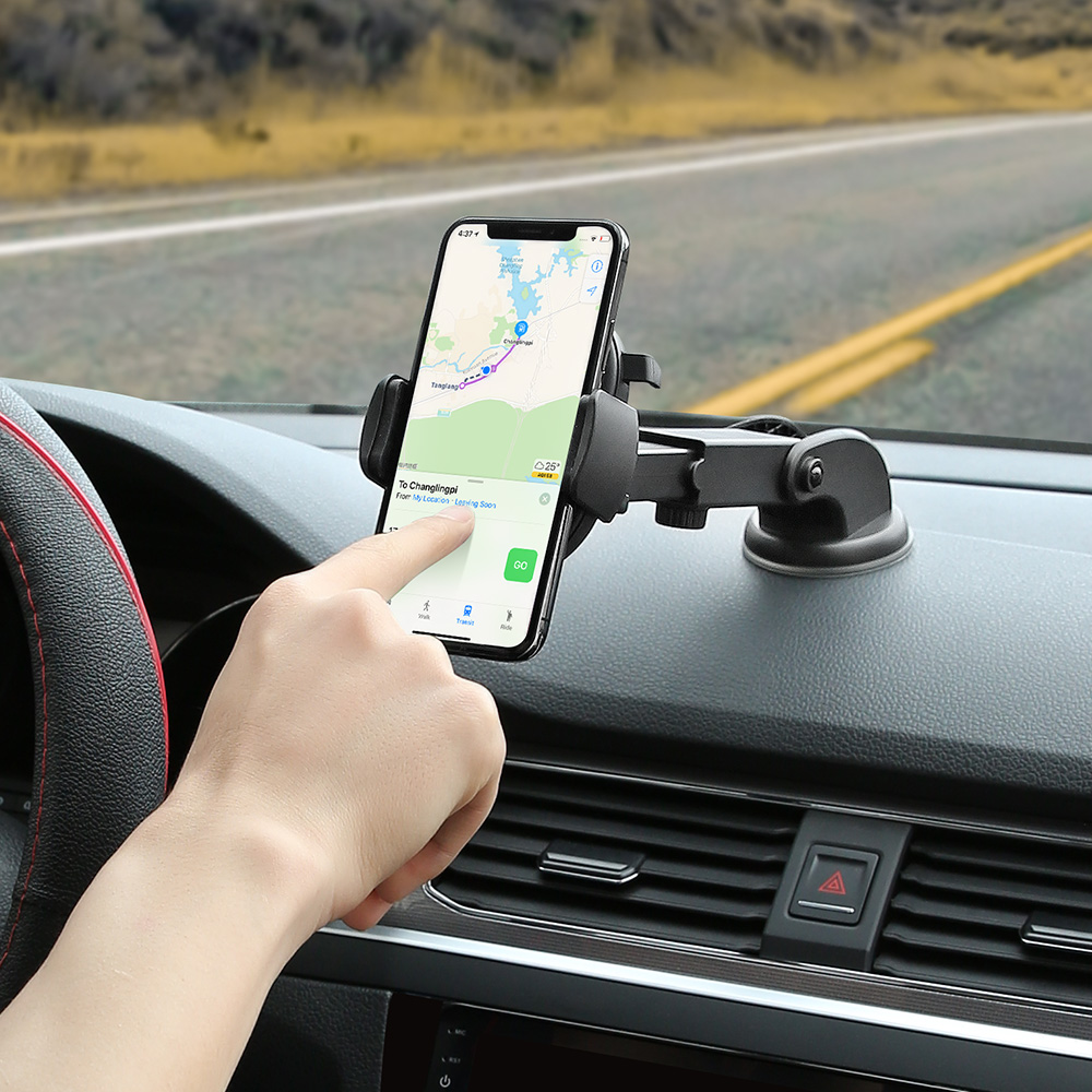RAXFLY Car Phone Holder For IPhone 11 XR 7 360 Degree Rotation Phone Stand For Your Mobile Phone Support Smartphone Car Holders