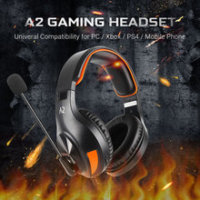 Sades A2 Gaming Headset Wired Headphone 3.5mm With 120 ° Adjustable Microphone Stereo Sound For PS4 New Xbox PC Laptop