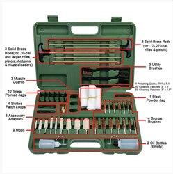 Kit de limpieza Universal de pistola de caza táctica de 62 piezas lamarch para Rifle pistola de disparo ~ envío gratis
