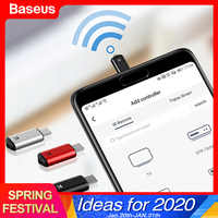 Baseus Smart Remote Control For Micro USB Universal Wireless IR Remote Controller For LG Samsung TV BOX Air Mouse Aircondition
