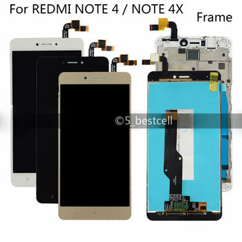 Original For Xiaomi Redmi Note 4X/ Note 4 Global Version LCD Display Touch Screen Replacement