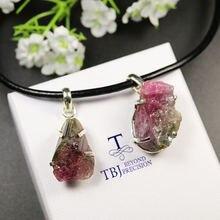 Женская кожаная подвеска tbj подарочное ожерелье из натурального