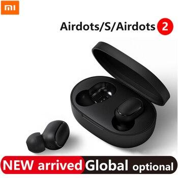 xiaomi airdots 2 tws Redmi redmi Airdots s TWS Wireless earphone Bluetooth 5.0 Noise reduction Tap Control Earphones s наушники
