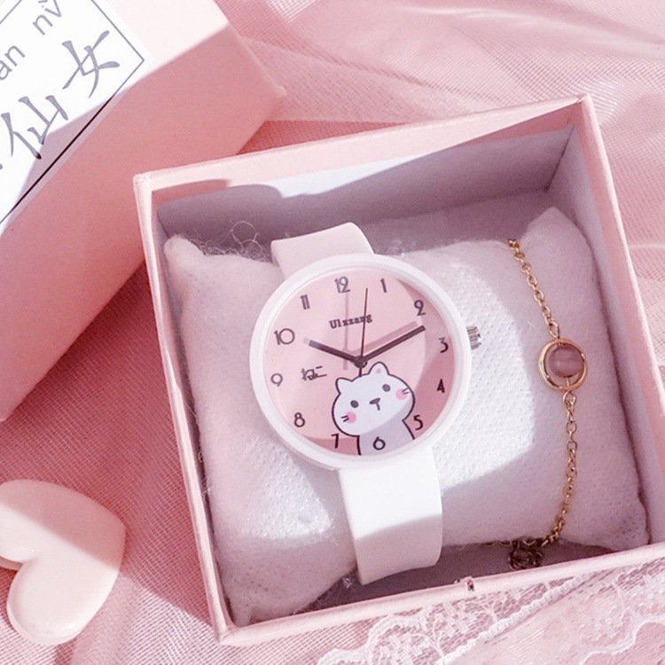 Fashion Kids Watches Lovely Catoon Creative Children Watch Cute Simple Quartz Girls Wristwatch Gift
