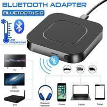 Receptor y transmisor 5,0 Bluetooth APTX HD LL Audio Bt música inalámbrico USB adaptador 3,5mm para 3,5 AUX