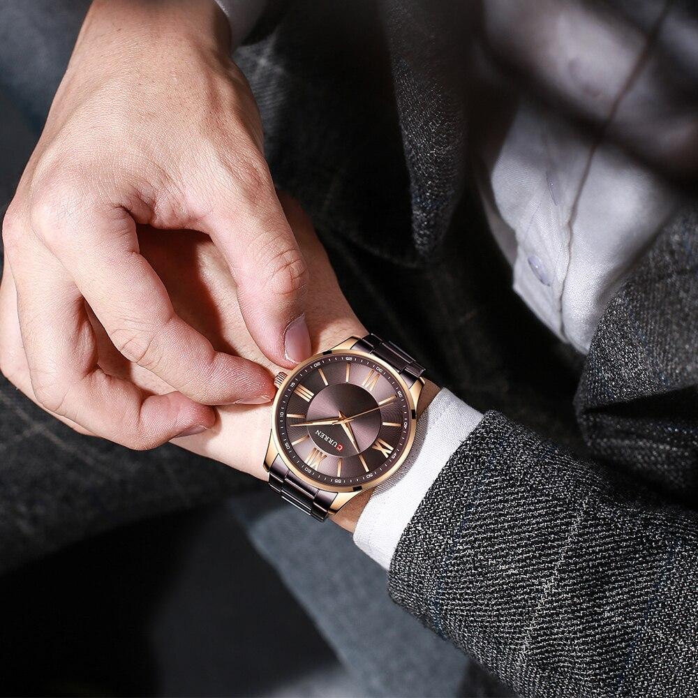 pulso marca de luxo à prova dunisex