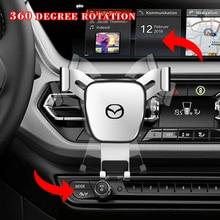 Car-Mount-Bracket Car-Phone-Holder MX5 Mazda Universal for ATENZA Axela 5/6/323/.. 360-Degrees