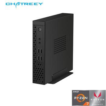Chatreey S1 mini pc AMD Ryzen R3 3200G R5 3400G dual sodimm DDR4 core i3 9100 i5 9400 ITX computer desktop thin client