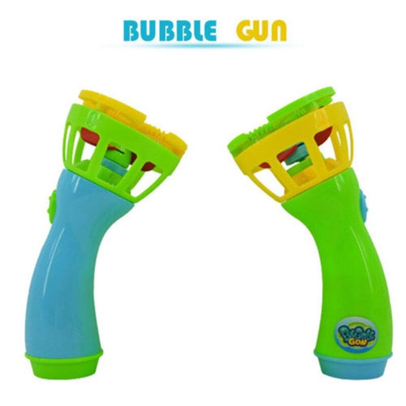 1pc New Summer Bubble Blower Funny Magic  Mini Fan Kids Outdoor Toys Machine Bubble Maker For Girls Boys Children