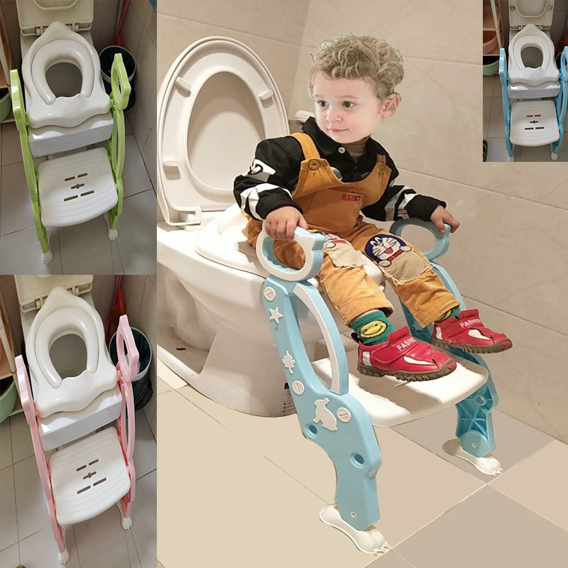2019 New Style CHILDREN'S Toilet Ladder Square Chamber Pot Usable Step-wise Toilet For Kids