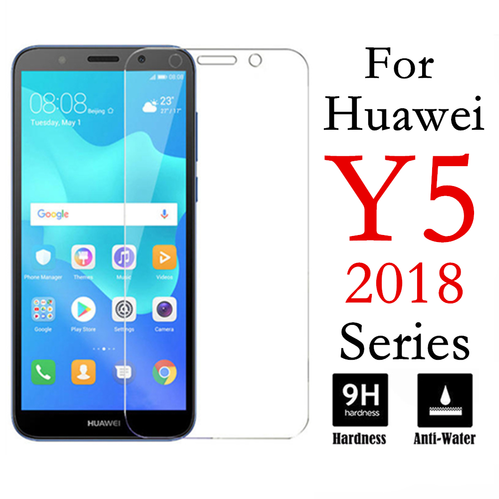 Protective Glass On For Huawei Y5 Lite 2018 Glas Huaweii Y 5 Prime 2018 Light Y5 2017 Ii 5y Y5ii Hauwei Safety Tremp Sheet Film