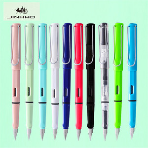 New Listing luxury quality Jinhao 777 Fashion Various colors student Office Fountain Pen School stationery Supplies ink pens