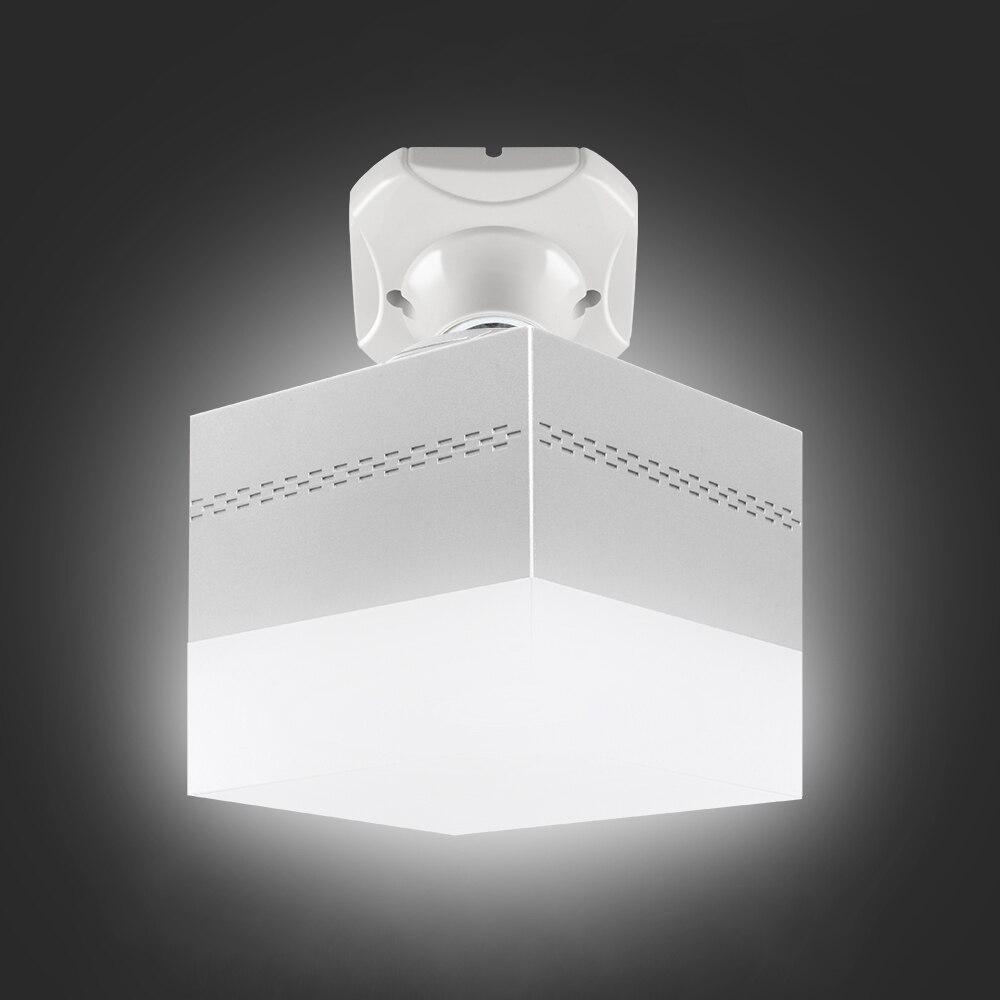Lámpara LED de 28W E27 5500k, iluminación de repuesto de LED, bombilla LED, accesorio portátil de forma cuadrada para decoración del hogar Lámpara LED de escritorio recargable por USB, lámpara de mesa de ajuste de atenuación táctil para niños, lectura, estudio, cabecera, dormitorio y sala de estar