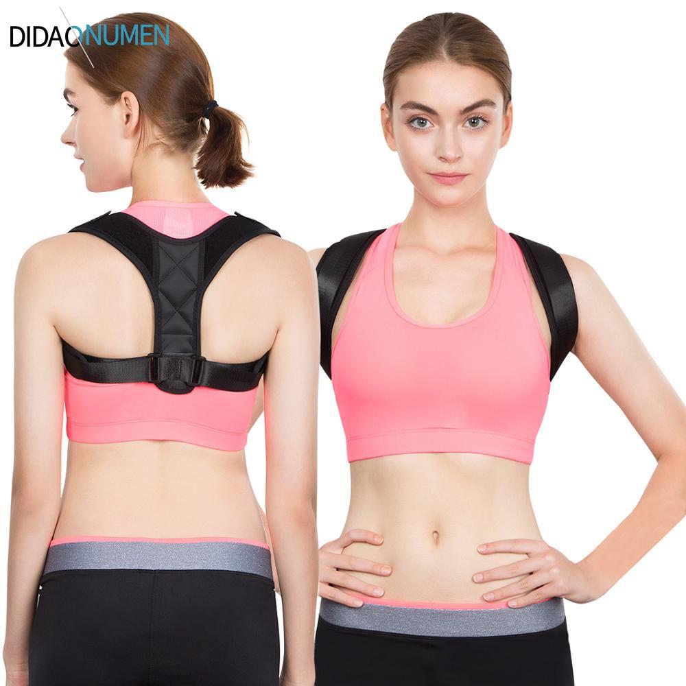 Adjustable Posture Corrector Back Support Strap Brace Shoulder Spine Support Lumbar Posture Orthopedic Belts