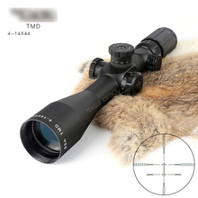 BSA TMD 4-14X44 FFP Hunting Riflescope First Focal Plane Glass Mil Dot Reticle Tactical Optics Sight Side Parallax Rifle Scope marcool evv 4 16x44 ffp first focal plane tactical riflescope scopes hunting optical sight rifles with etched glass rangefinder