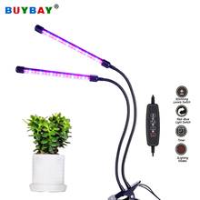 BUYBAY LED 성장 빛 전체 스펙트럼 유연한 클립 Phyto 램프 USB 9W 20W 27W 36W 식물에 대 한 램프를 성장 모 종 실내 성장 램프